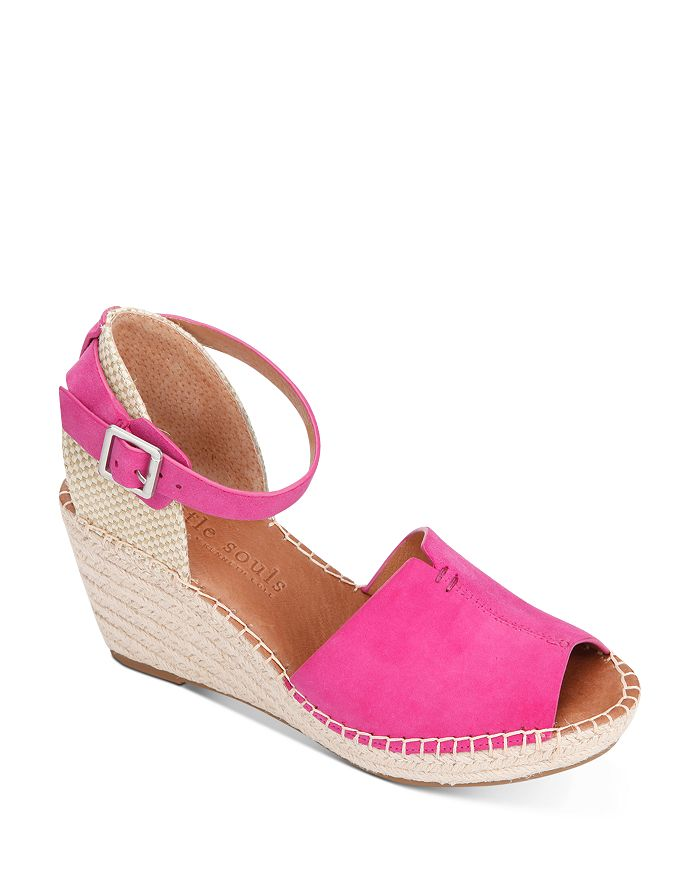 Gentle Souls by Kenneth Cole - Women's Charli Espadrille Wedge Sandals