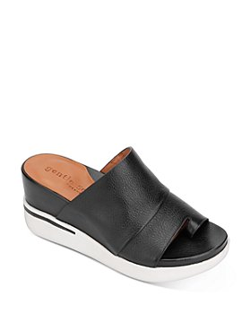 Gentle Souls by Kenneth Cole - Women's Gisele Sporty Wedge Slide Sandals