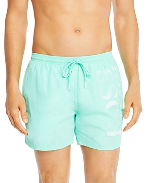 Boss Octopus Logo Swim Trunks