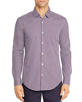 BOSS - Rikki Cotton-Blend Printed Shirt