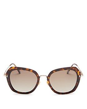 Tom Ford - Women's Kenyan Polarized Geometric Sunglasses, 54mm