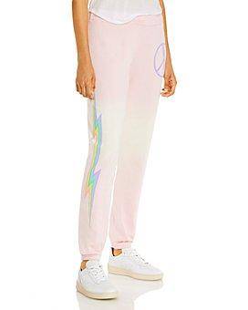AQUA - Lauren Moshi x AQUA Electric Peace Jogger Pants - 100% Exclusive