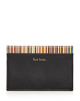 Paul Smith - Inner Multistripe Card Case