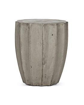SAFAVIEH - Jaslyn Indoor/Outdoor Modern Concrete Round Accent Table