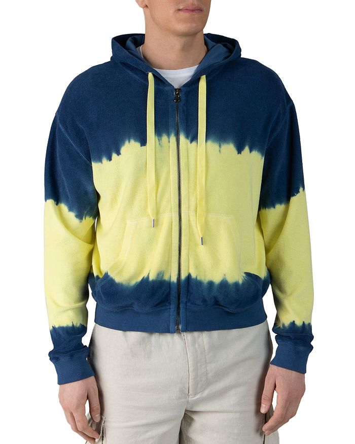 ATM Anthony Thomas Melillo - Cotton French Terry Two-Tone Dip-Dyed Hoodie