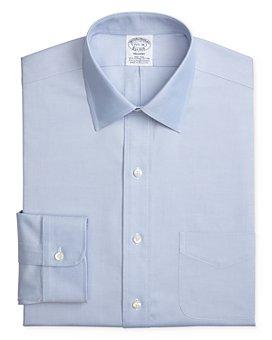 Brooks Brothers - Solid Stretch Regular Fit Dress Shirt