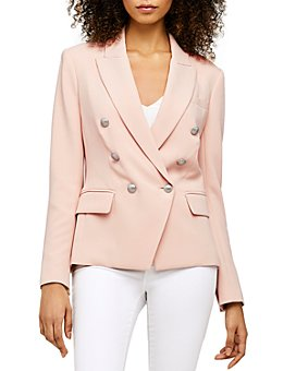 L'AGENCE - Kenzie Double-Breasted Blazer