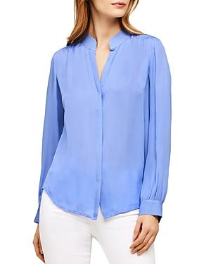 L\\\'Agence Bianca Silk Shirt-Women