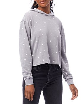 ALTERNATIVE - Cropped Stars Hoodie
