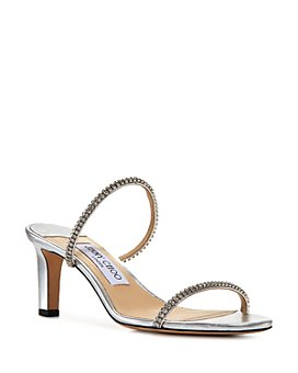Jimmy Choo - Women's Brea 65 High Heel Crystal Strap Sandals