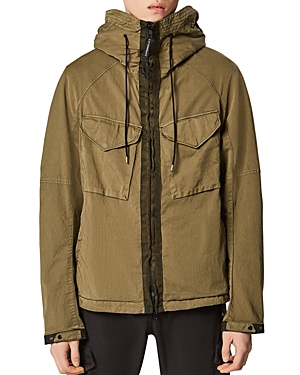 C.p. Company Raso Goggle Cotton-Blend Water-Resistant Jacket-Men