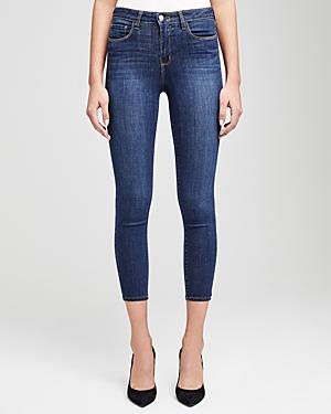 L\\\'Agence Margot High-Rise Skinny Jeans in Prime Blue-Women