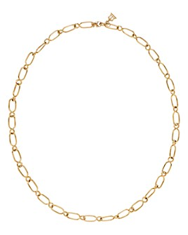 """Temple St. Clair - 18K Yellow Gold River Chain Link Necklace, 24"""""""