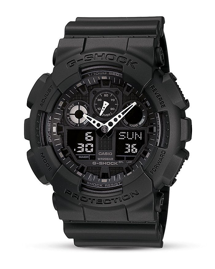 G-Shock - G Shock Oversized Analog/Digital Combo Watch, 55 x 51 mm