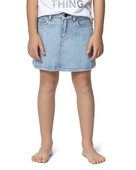 Zadig & Voltaire - Girls' Ann Rainbow-Back Jean Skirt - Little Kid, Big Kid