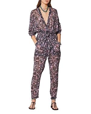 Iro Poincia Printed Jumpsuit-Women