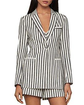 BCBGMAXAZRIA - Striped Blazer