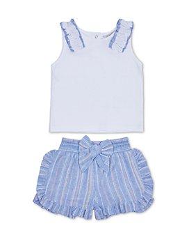 Habitual Kids - Girls' Tank Top & Ruffle Shorts Set - Big Kid