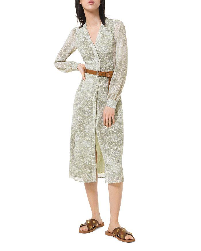 MICHAEL Michael Kors - Midi Shirt Dress