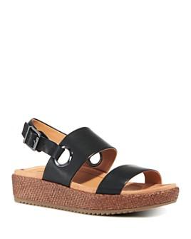 Vionic - Women's Louise Raffia Platform Sandals