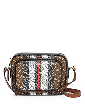 Burberry - Monogram Stripe E-Canvas Camera Bag