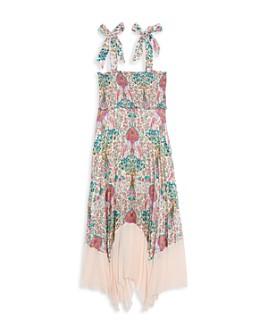 Sandro - Irena Printed Tie Strap Dress
