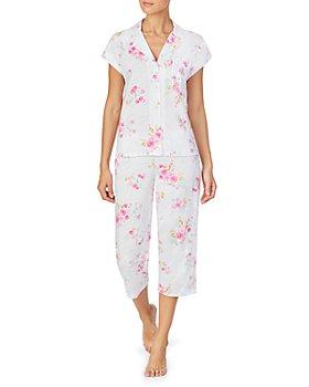 Ralph Lauren - Floral Print Knit Capri Pajama Set