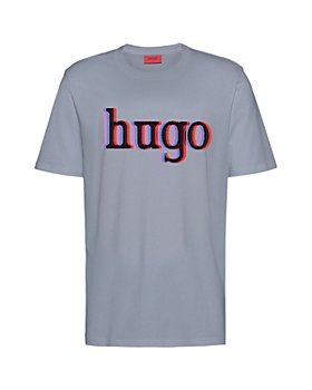 HUGO - Dontrol Cotton Logo Graphic Tee