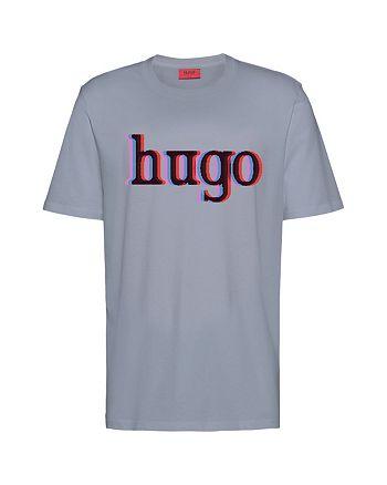 HUGO - Dontrol Cotton Logo Graphic Tee