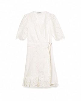 Sandro - Zany Lace Mini Dress