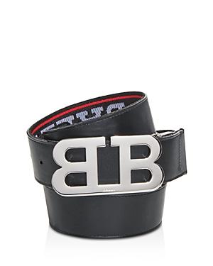 Bally Men\\\'s Mirror Logo Reversible Belt-Men