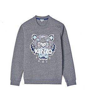 Kenzo - Men's Classic Embroidered Tiger Hooded Sweatshirt