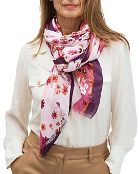 kate spade new york - Bora Flora Oblong Scarf