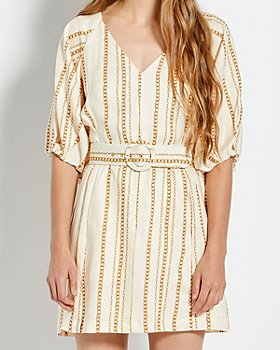 Nicholas - Shaanti Printed Linen Dress