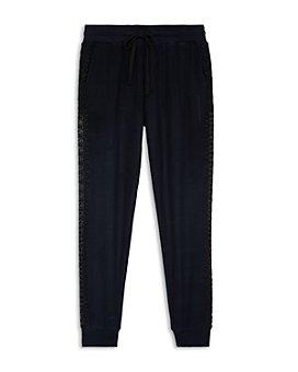 The Kooples - Lace Trim Jogger Pants