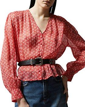 The Kooples - Spring Liberty Floral Print Shirt