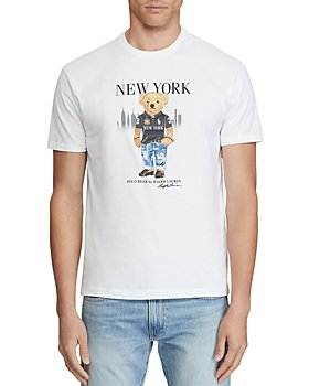 Polo Ralph Lauren - Classic Fit New York Bear Graphic Tee