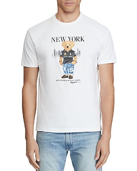 Polo Ralph Lauren - New York Bear Cotton Jersey Graphic Tee