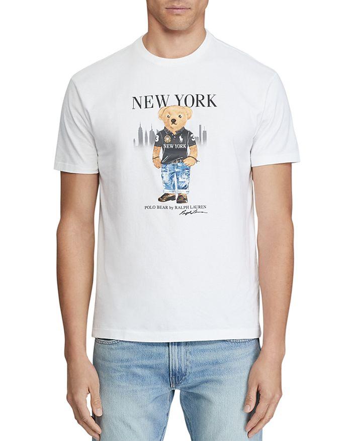 Polo Ralph Lauren - Classic Fit New York Bear Graphic Tee