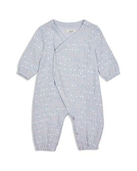 Peek Kids - Unisex Bowie Cotton Geo Print Wrap Coverall - Baby