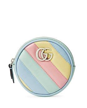 Gucci - GG Marmont Multicolor Matelassé Coin Purse