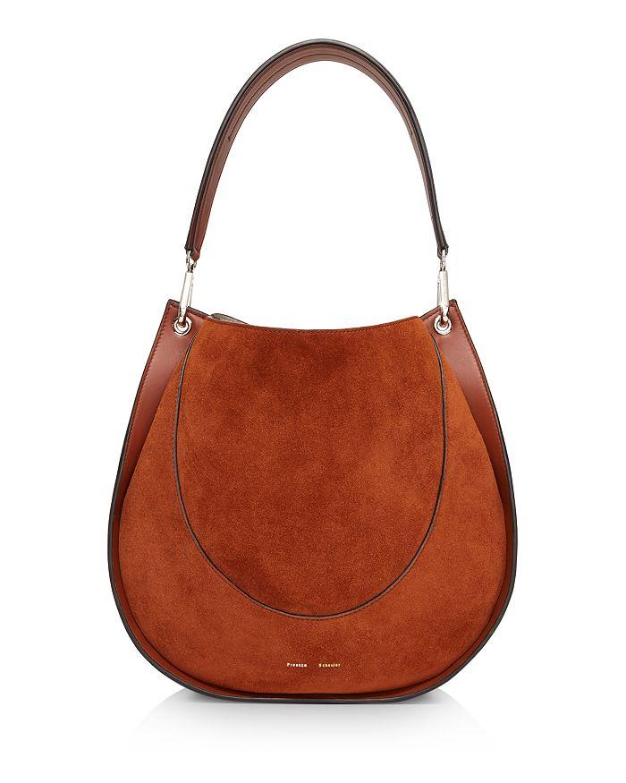 Proenza Schouler - Large Leather & Suede Arch Shoulder Bag