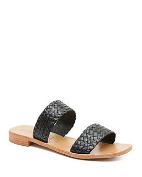 St. Agni - Women's Piers Woven Slide Sandals