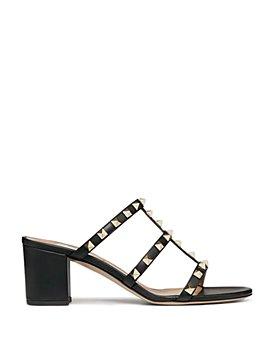 Valentino Garavani - Women's Rockstud Cage Mule Slide Sandals