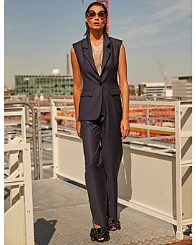 Carolina Ritzler - Notch Lapel Jumpsuit