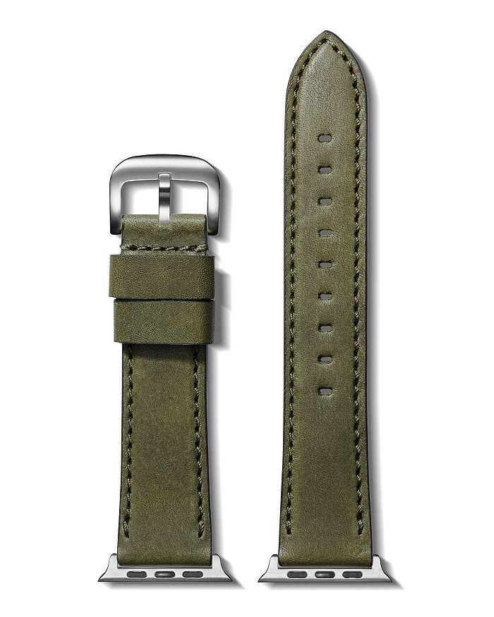 Shinola - Essex Leather Strap for Apple Watch®, 24mm