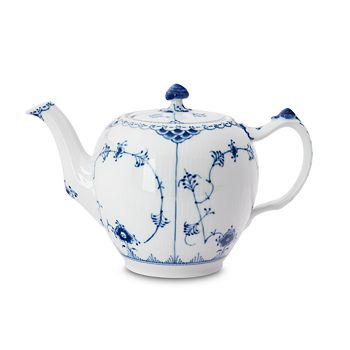 "Royal Copenhagen - ""Blue Fluted Half Lace"" Teapot"