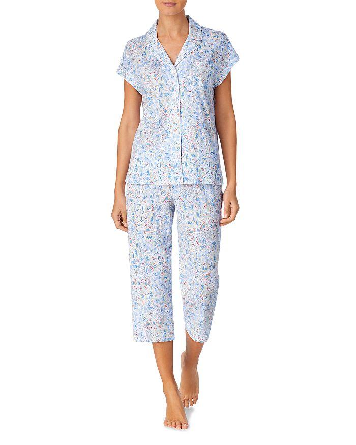 Ralph Lauren - Floral Print Capri Pants Pajama Set