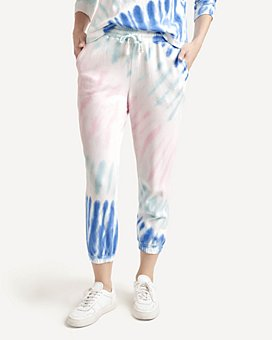 Splendid - May Tie Dyed Cropped Sweatpants