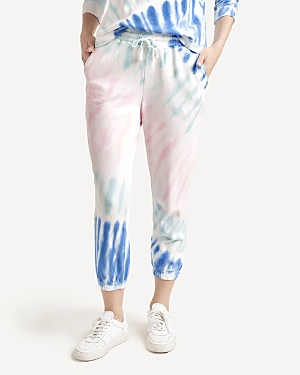 Splendid MAY TIE DYED CROPPED SWEATPANTS